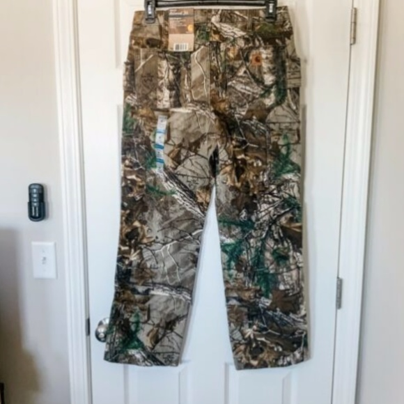 NWT Carhartt Womens Relaxed Fit Kane Dungaree Pants